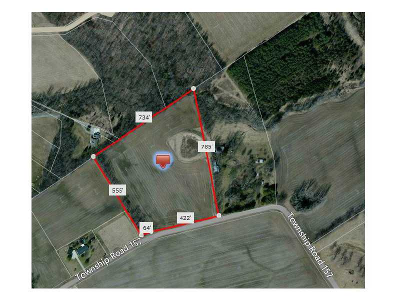 11 acres by East Liberty, Ohio for sale