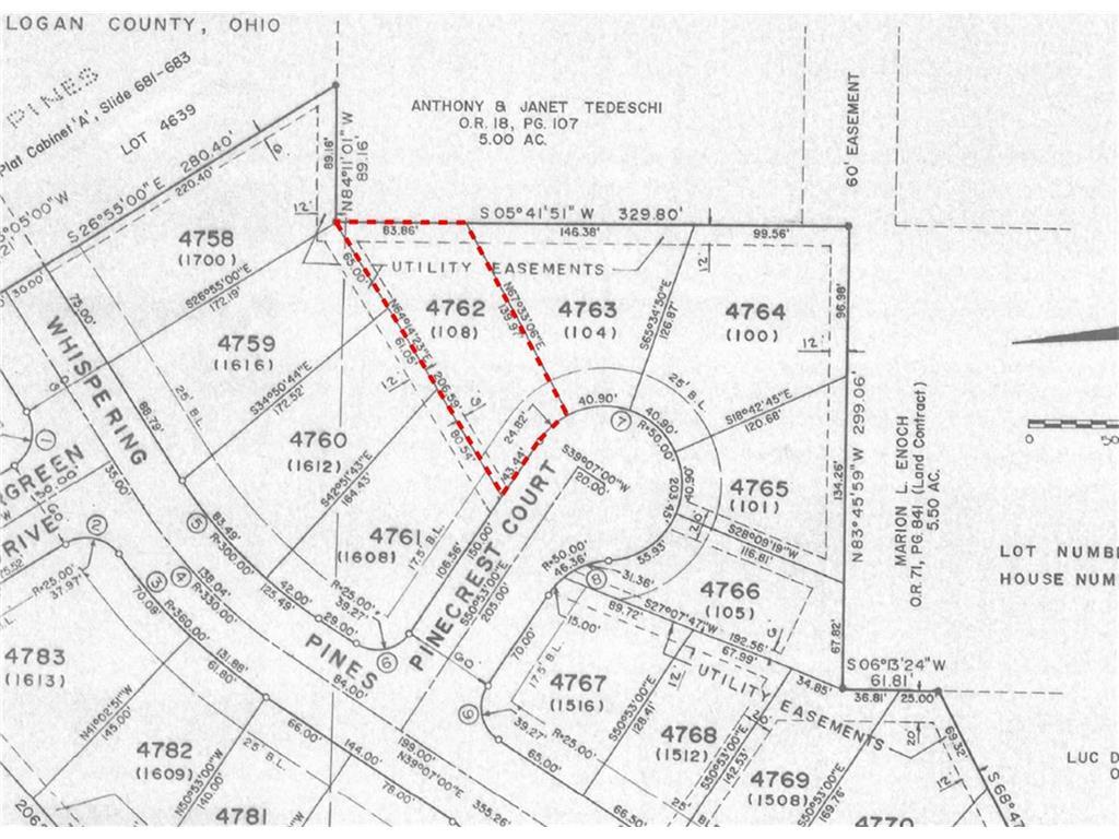 108 Pinecrest Court 4762 Bellefontaine, OH 43311