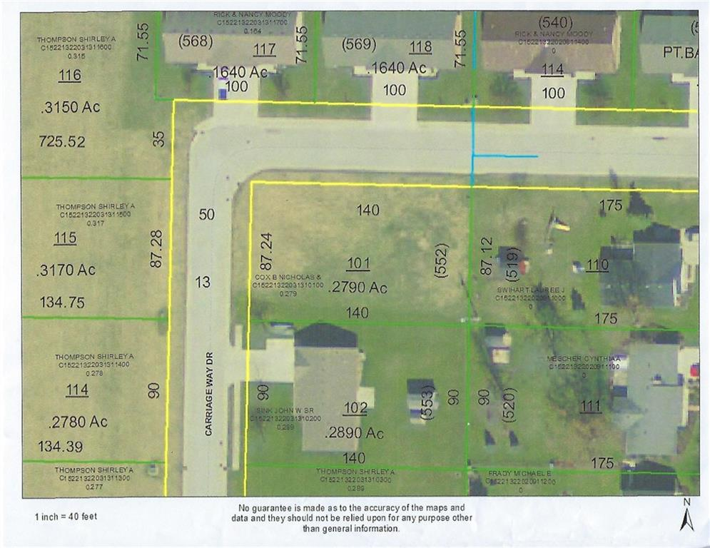 Lot 552 Carriage Way Ansonia, OH 45303