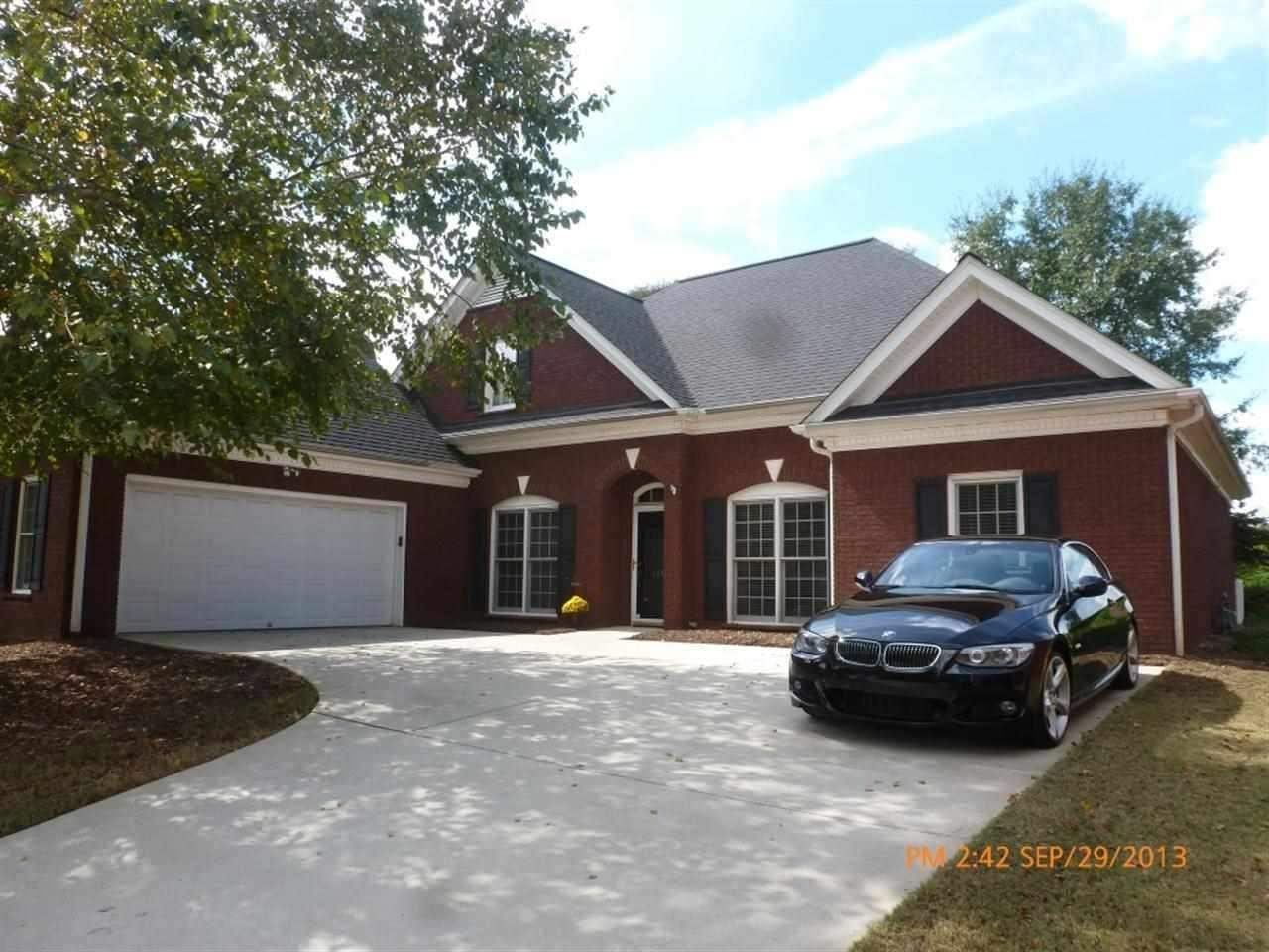 Rental Homes for Rent, ListingId:26962236, location: 110 Grove Park Dr. Anderson 29621