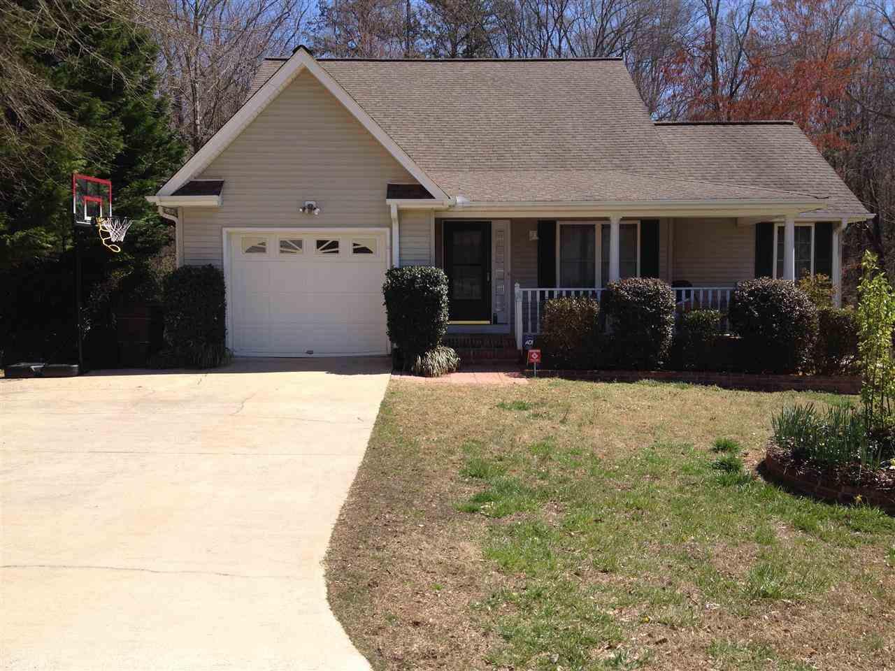 Rental Homes for Rent, ListingId:29602990, location: 124 Grand Oak Circle Pendleton 29670