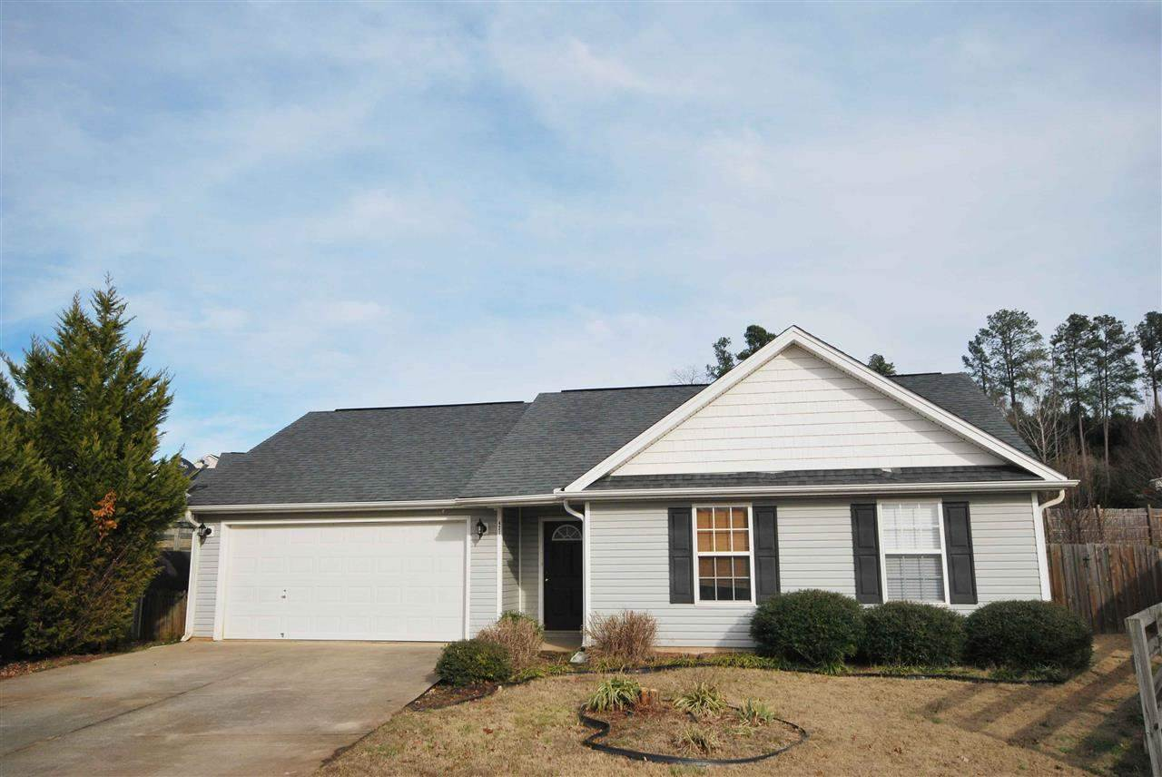 Rental Homes for Rent, ListingId:34917443, location: 421 Portifino Court Boiling Springs 29316