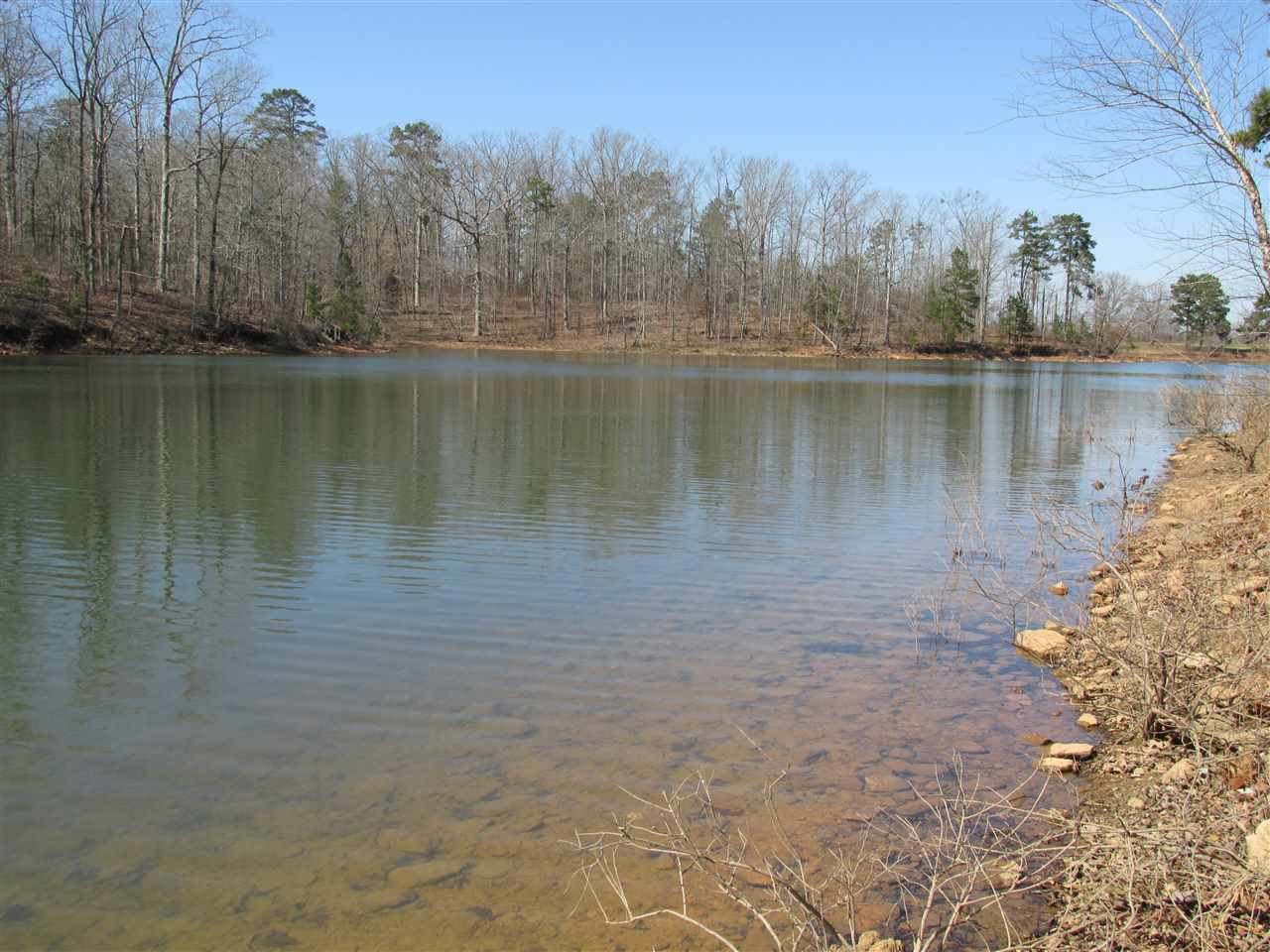 Hartwell GA Lake Waterfront Lot Just Across The Cove From Hart State Park And 45000 Martin