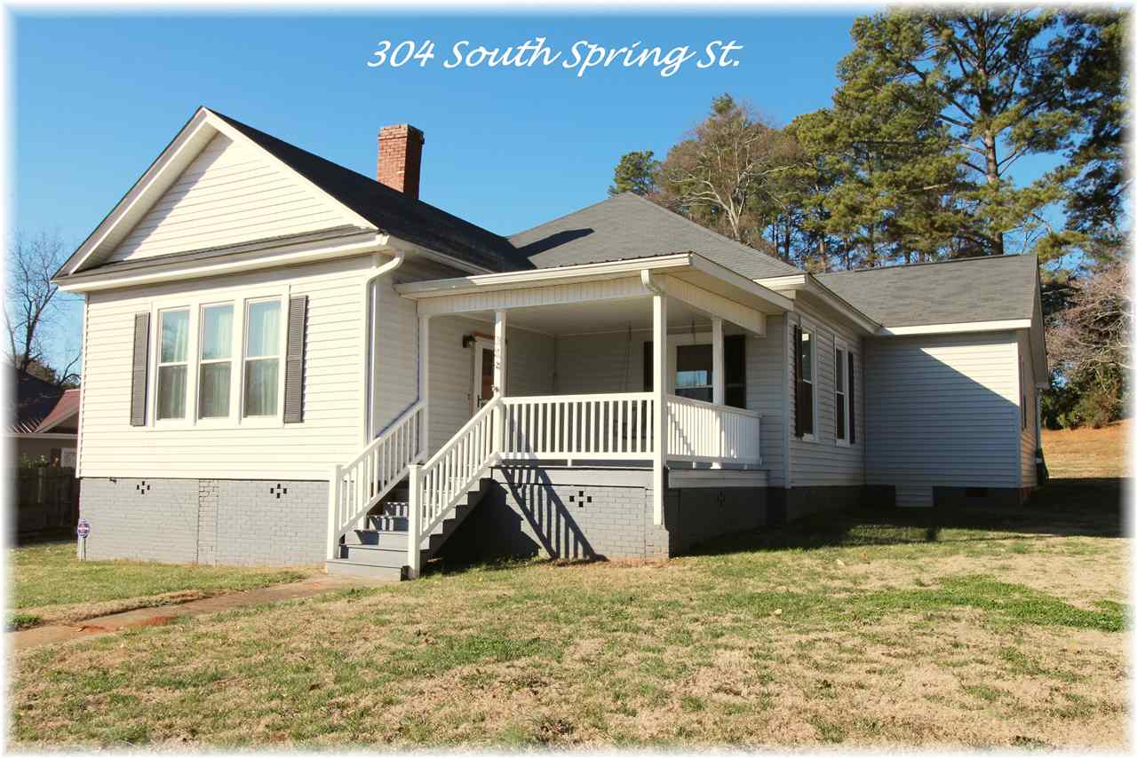 304 S Spring Street, Walhalla Banked Owned Real Estate