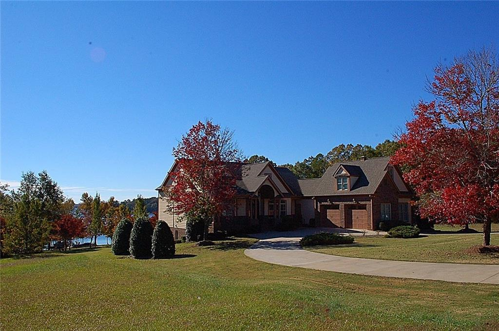 190 Majestic Shores Road, Hartwell in Hart County, GA 30643 Home for Sale