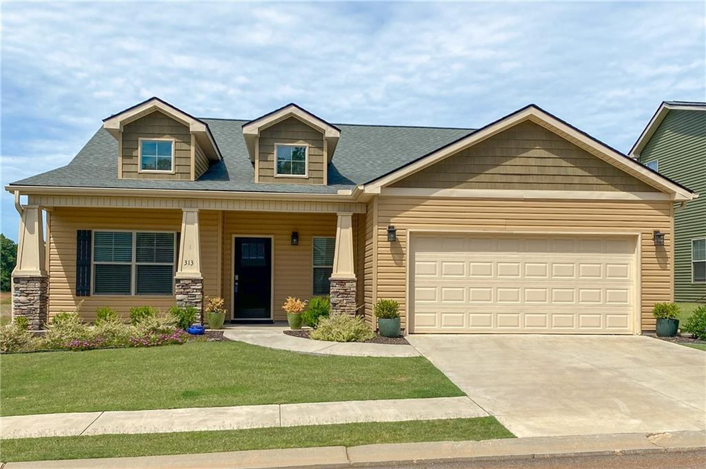 313 Sliding Rock Drive, one of homes for sale in Pendleton