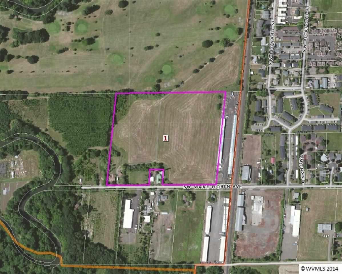 16.24 acres Corvallis, OR