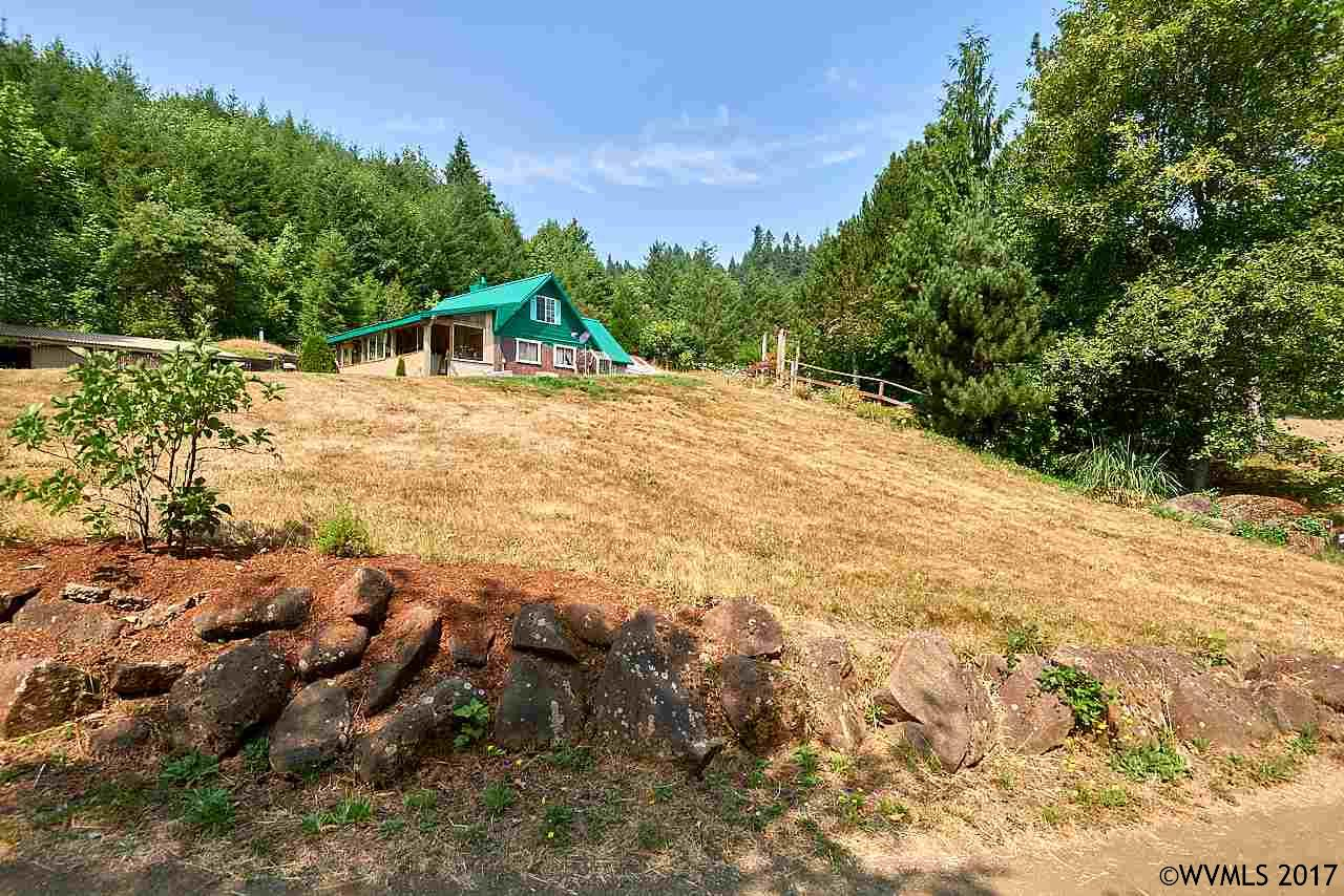 Photo of 9926 SW Gilbert Creek Rd  Willamina  OR