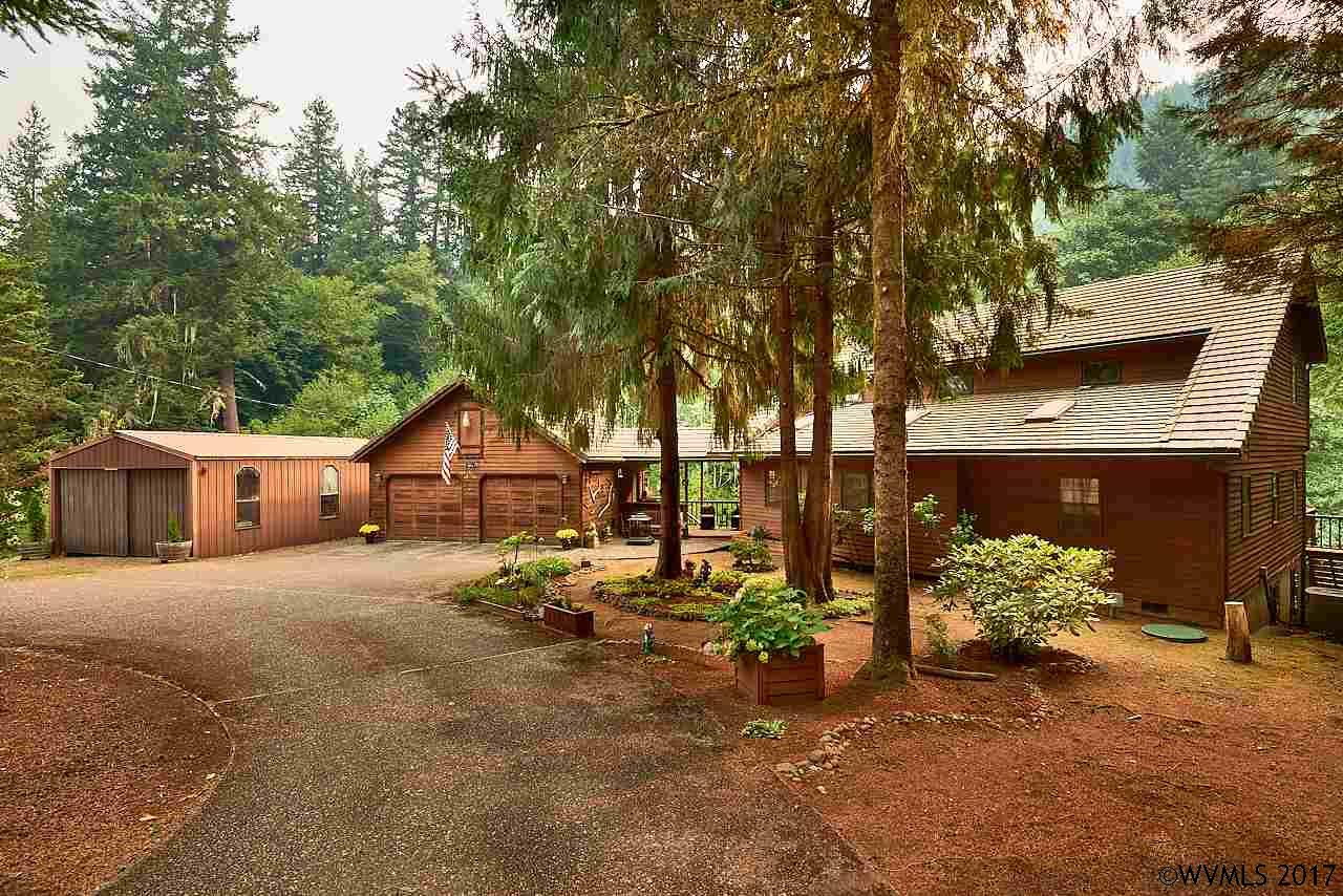 Photo of 12751 SW Gilbert Creek Rd  Willamina  OR