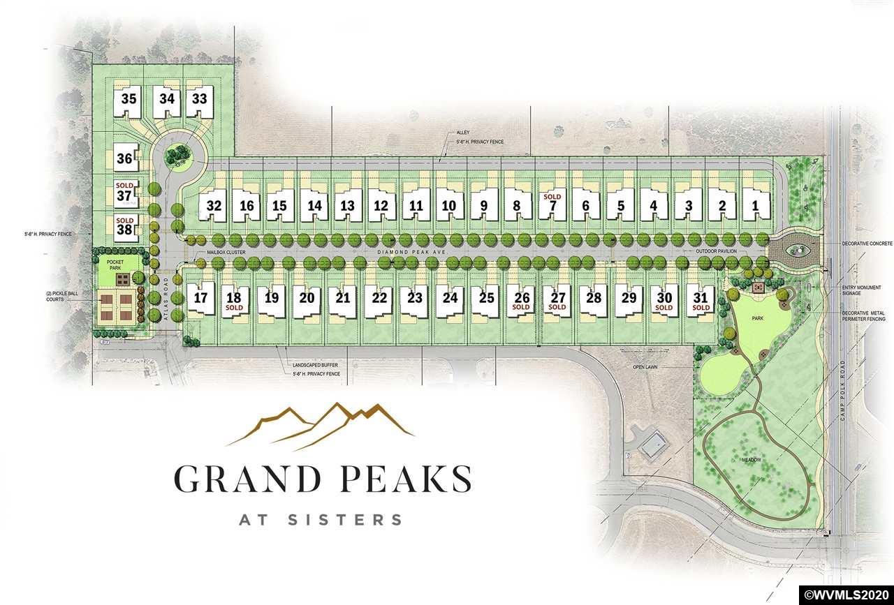 251 E Diamond Peak Av, one of homes for sale in Sisters