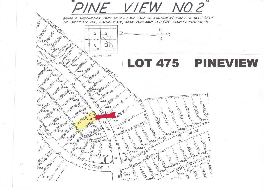 Land for Sale, ListingId:20452648, location: Pinecrest Drive Elmira 49730