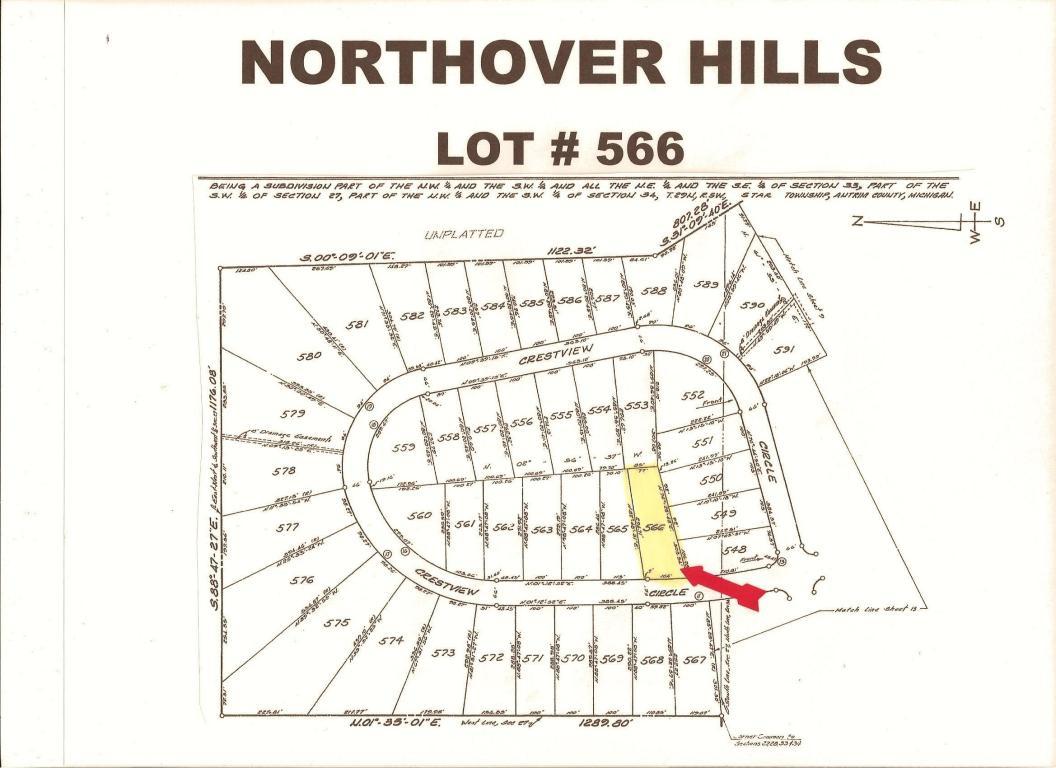 Land for Sale, ListingId:20452794, location: Crestview Circle Elmira 49730