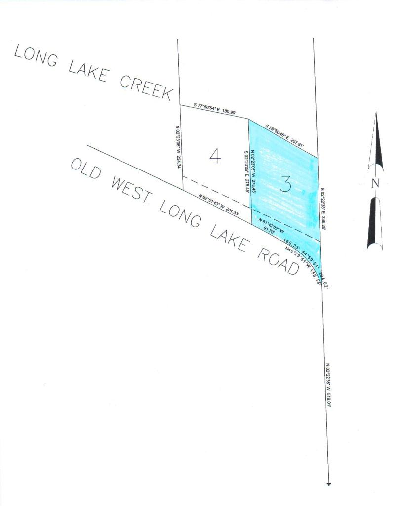 W Old Long Lake Rd # PARCEL 3, Alpena, MI 49707