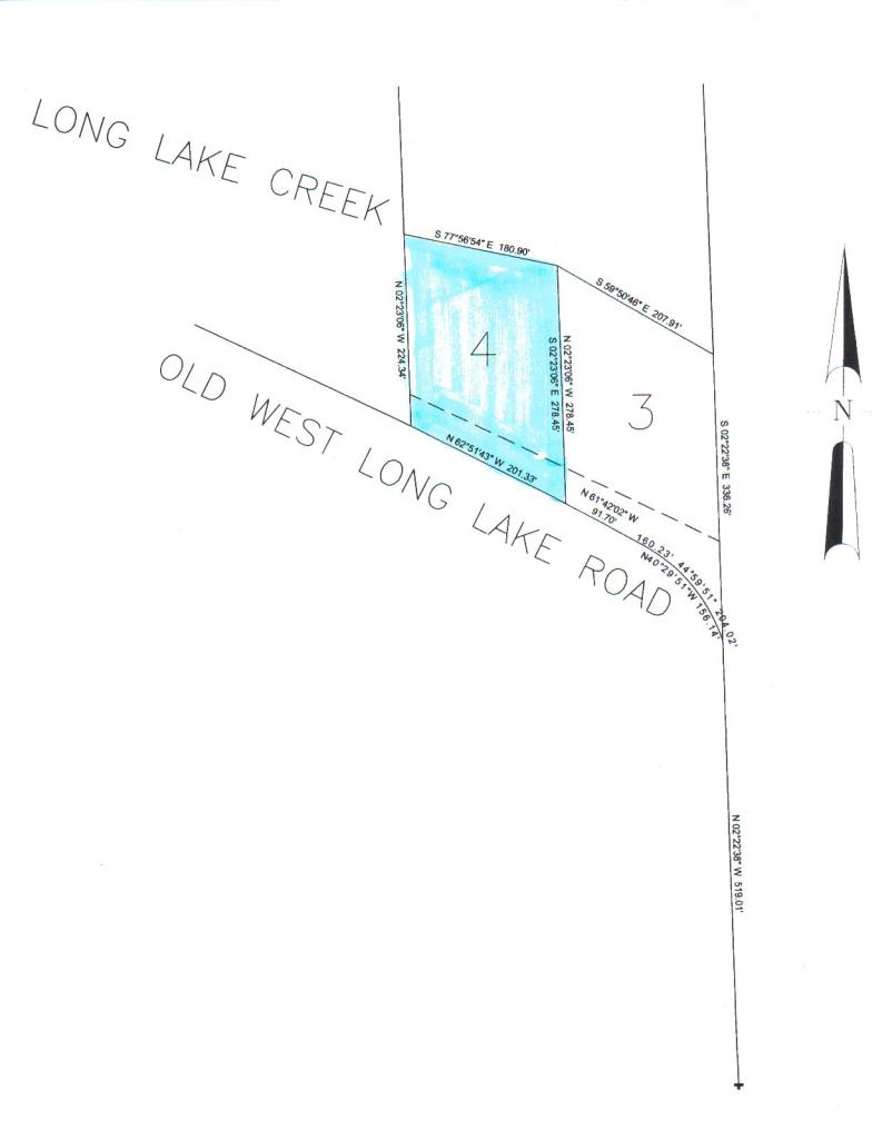 W Old West Long Lake Road # Parcel 4, Alpena, MI 49707