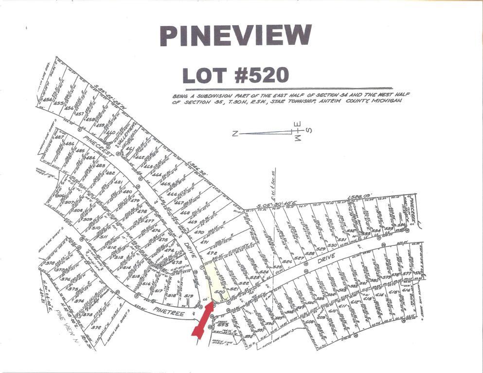 Land for Sale, ListingId:27688011, location: Pinecrest & Pinetree Elmira 49730