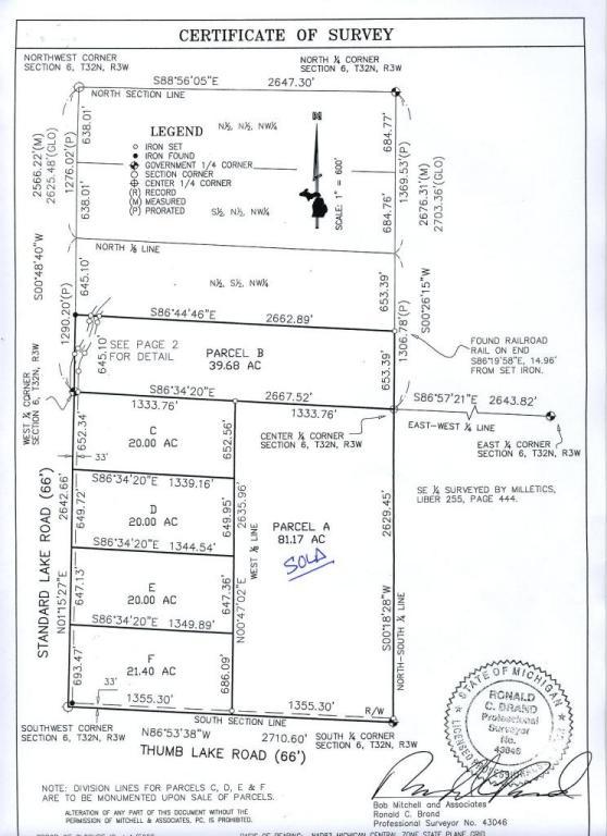 Real Estate for Sale, ListingId: 30157961, Vanderbilt,MI49795