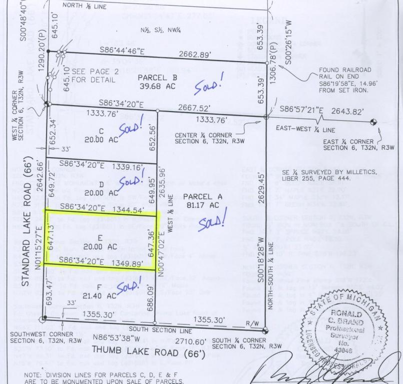 Real Estate for Sale, ListingId: 30157962, Vanderbilt,MI49795