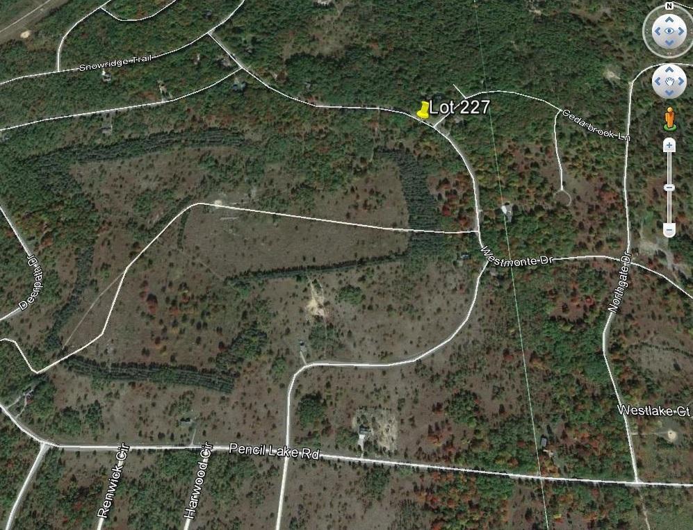 Land for Sale, ListingId:30233146, location: Snowcrest Heights Elmira 49730