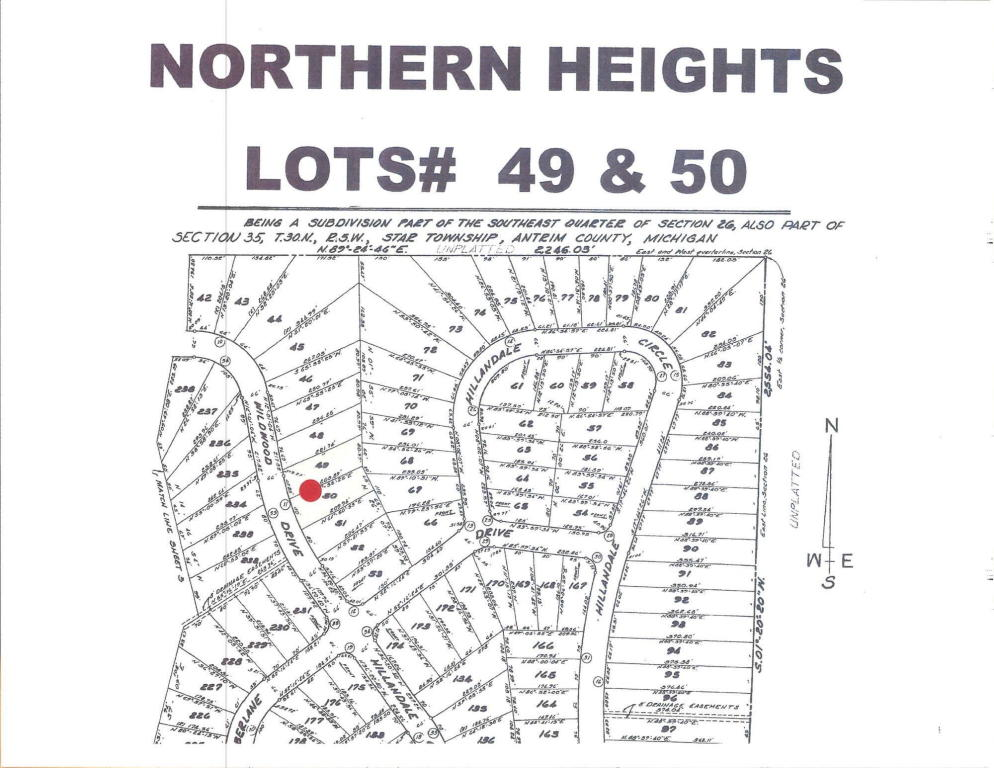 Land for Sale, ListingId:34640989, location: Wildwood Drive Elmira 49730
